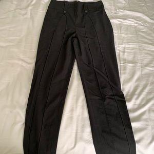 Bcbg maxazria xxs black dress pants - worn once